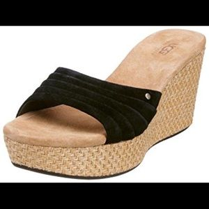 Ugg Alvina Wedge Size 8